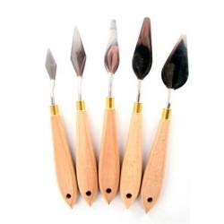 Set de 5 couteaux à peindre