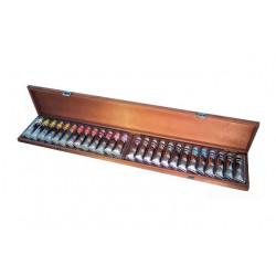Coffret peinture acrylique  - 26 tubes Polycolor