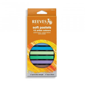 Set de 12 pastels tendres - Reeves