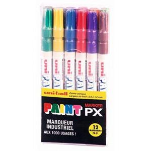 Boîte de 12 marqueurs PAINT Marker PX21