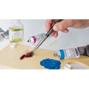 Médium W Schmincke, rend la peinture à l'huile miscible à l'eau