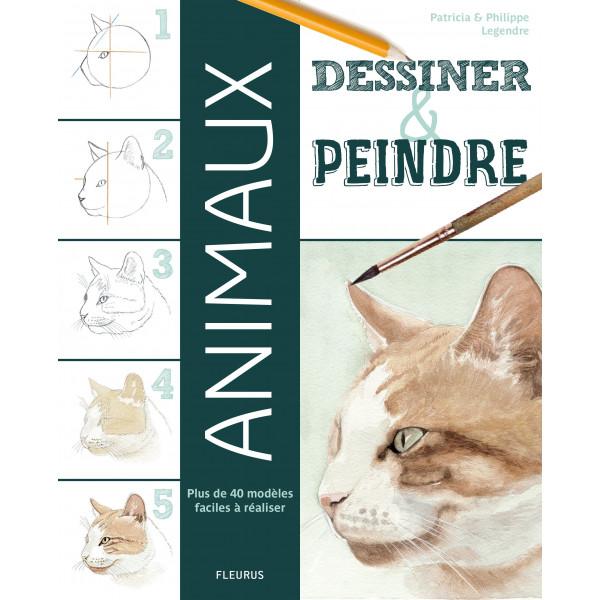 Dessiner et peindre les animaux - Livre
