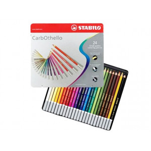 Boîte de crayons pastels CarbOthello - Stabilo