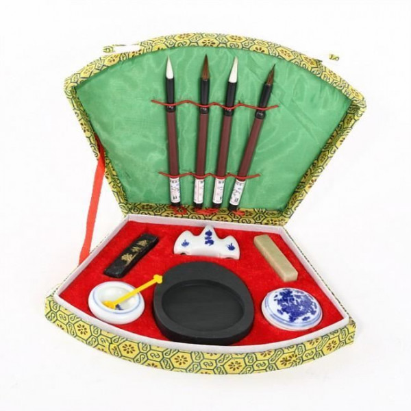 Coffret calligraphie Chinoise - 10 pièces