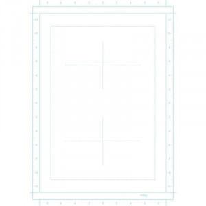 Planches esquisse Manga & BD avec repères - 55gr/m² - Clairefontaine