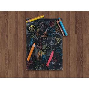 Pochette de 6 crayons Stabilo - 3 en 1 WooDY - avec taille-crayon
