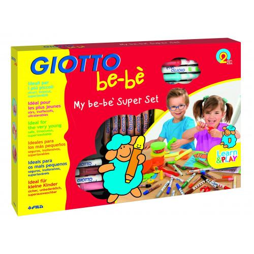 Coffret d'activité créative - Coloriage et modelage - Giotto