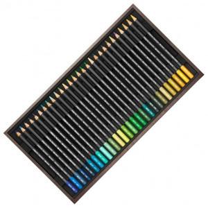 Coffret bois 80 crayons Museum - Caran d'Ache