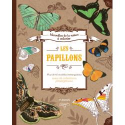 Les papillons à colorier - livre
