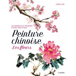 Peinture chinoise, les fleurs - livre