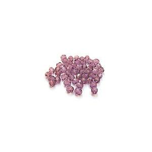 Facettes ou perles de Bohême - Améthyste