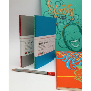 Carnet de croquis & notes - Lot de 2 carnets - Hahnemüle