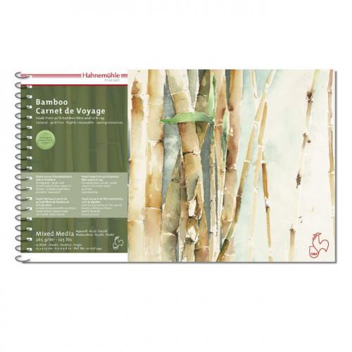 Carnet de voyage en bambou - Hahnemühle