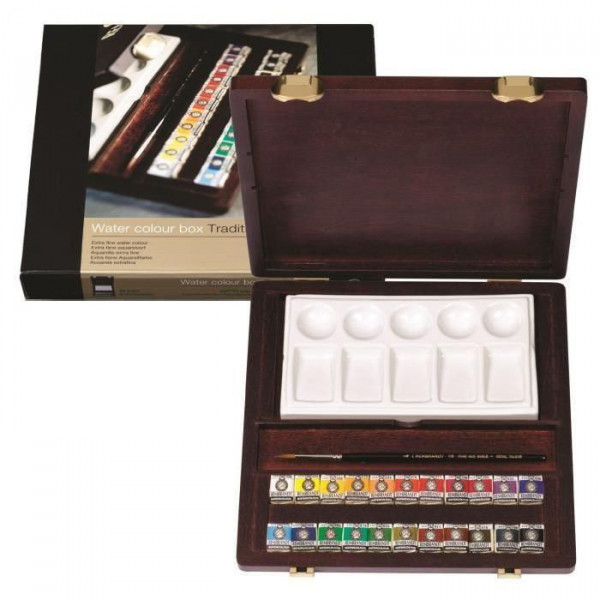Coffret aquarelle Rembrandt Traditionnal - Talens