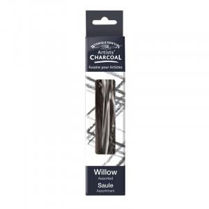 Fusains en bois de saule - Winsor & Newton