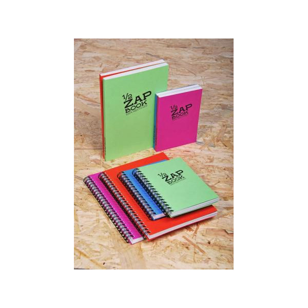 1/2 Zap book - 80 feuilles 80gr - Clairefontaine