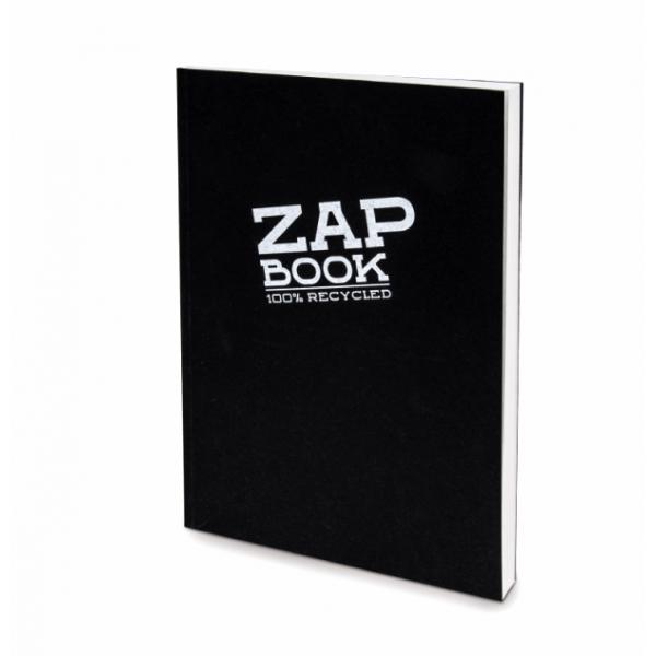 Zap Book noir - 160 feuilles 80gr - Clairefontaine