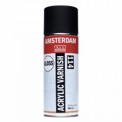 Vernis acrylique brillant en bombe - Talens