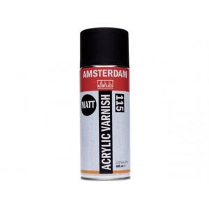 Vernis acrylique mat en bombe - Talens