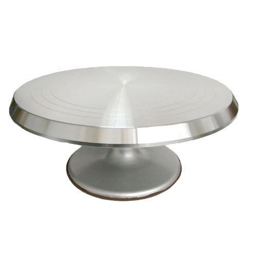 Tournette pour modelage en aluminium - diamètre 31 cm