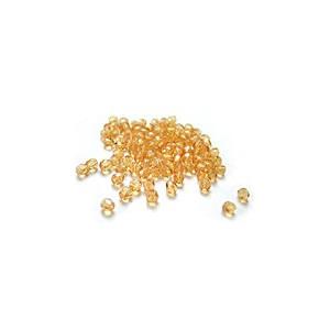 Facettes ou perles de Bohême - Topaze