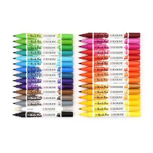 Set 30 brush pens Ecoline