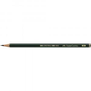 Boîte de 6 crayons graphite Castell 9000 - Sélection - Faber-Castell