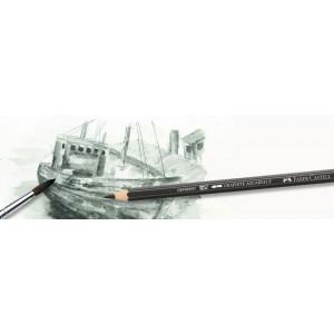 Boîte de 5 crayons graphite aquarelle PITT - Faber-Castell