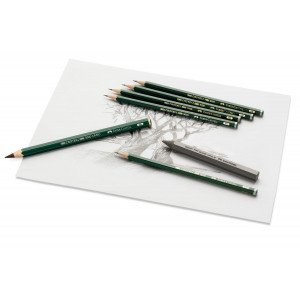 Crayon graphite CASTELL 9000 - Faber-Castell