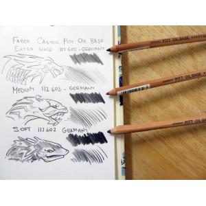 Crayon esquisse Pitt Oil Base - Faber-Castell
