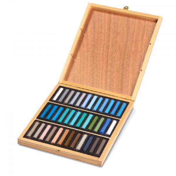 Coffret bois de 36 pastels sec - Blockx