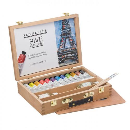 Coffre huile fine Rive Gauche - Sennelier