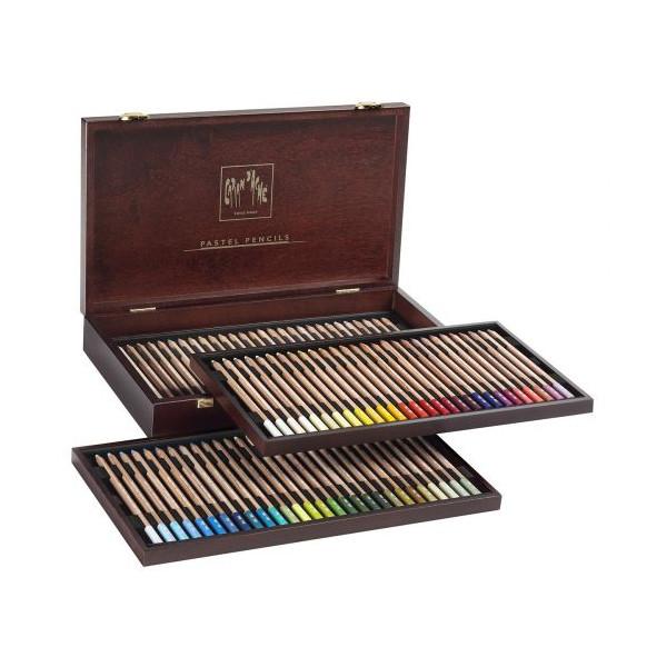 Coffret 84 crayons pastel - Caran d'Ache