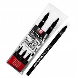 Set de 3 Pigma pen