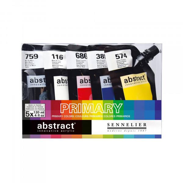 Set de peinture acrylique Abstract - Sennelier