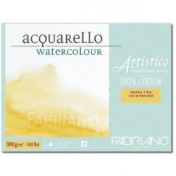 Bloc papier aquarelle Artistico - Fabriano