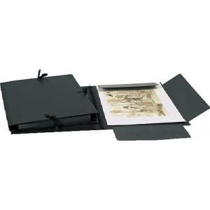 Carton à dessin 3 cordons avec rabats - 47x62cm - Clairefontaine