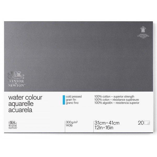 Bloc Aquarelle - 300gr grain fin - Winsor & Newton