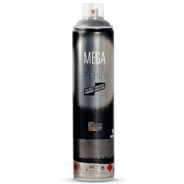 Bombe chrome Mega Plata 600ml - Montana