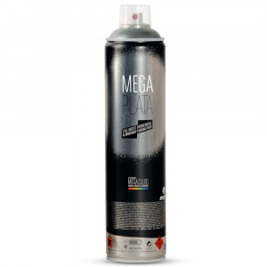 Bombe chrome Mega Plata 600ml - Montana