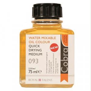 Auxiliaires Cobra (couleurs à l'huile diluable à l'eau).