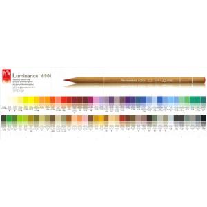 Coffret bois 80 crayons Luminance - Caran d'Ache