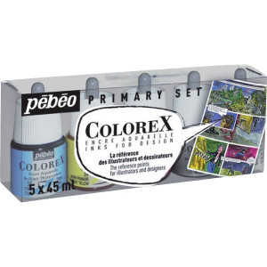 Encre aquarelle Colorex - Assortiment - Pébéo
