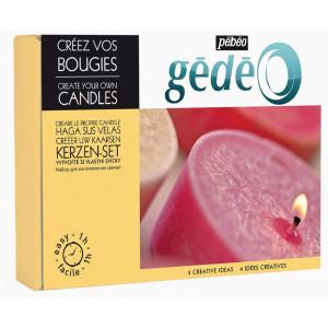 """Coffret """"Créez vos bougies"""""""