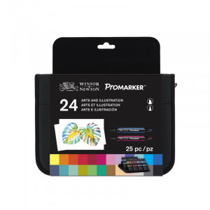 Set 24 Promarker - Art & Illustration - Winsor & Newton