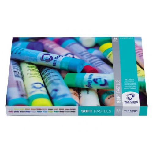 Set de 24 pastels tendres - Van Gogh