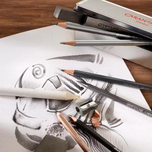 Crayon graphite Grafwood - Caran d'Ache