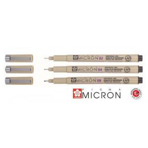 Set de 3 feutres Pigma Micron
