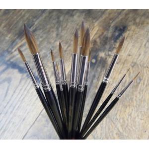 Pinceaux imitation Martre -  AquaStyl série 1037RO - Léonard