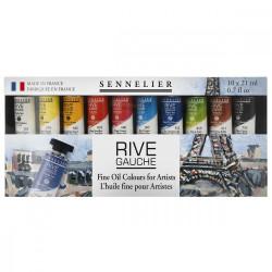 Set huile Rive Gauche 10x21ml  - Sennelier